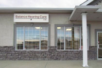Outside view of Balance Hearing Care office in Three Hills, Alberta